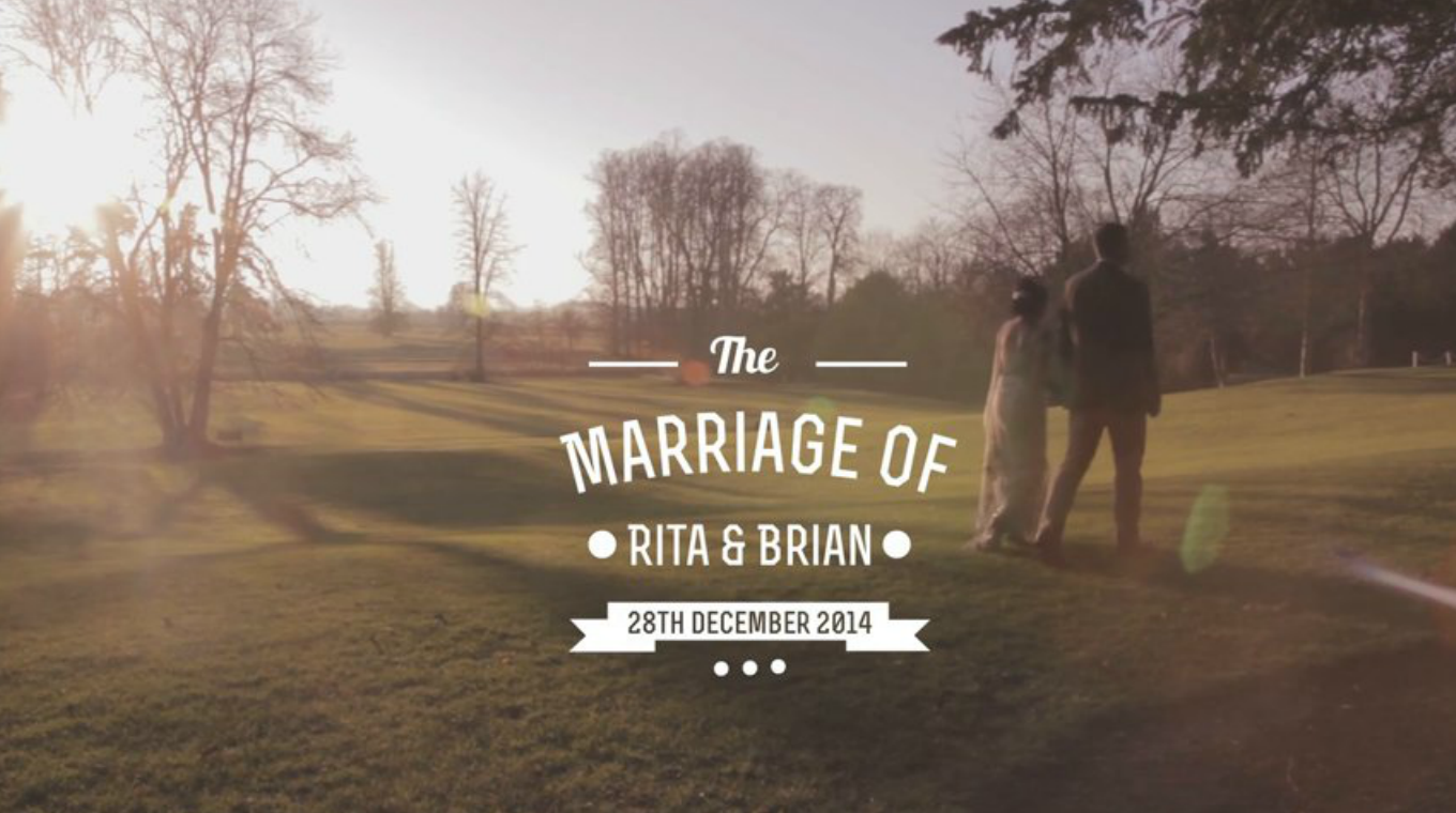 A wonderful Warwickshire wedding video at Ettington Park Hotel