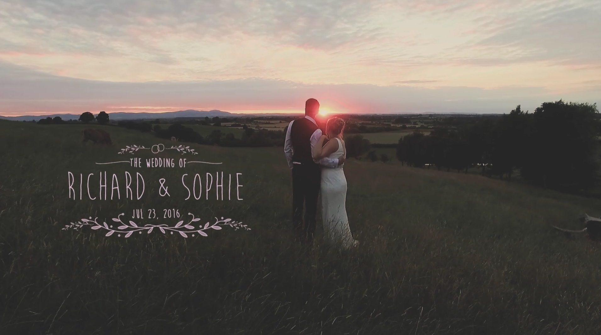 Worcestershire wedding video at Deer Park Hall, Pershore