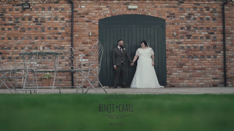 Relaxed, fun wedding videography at Curradine Barns!
