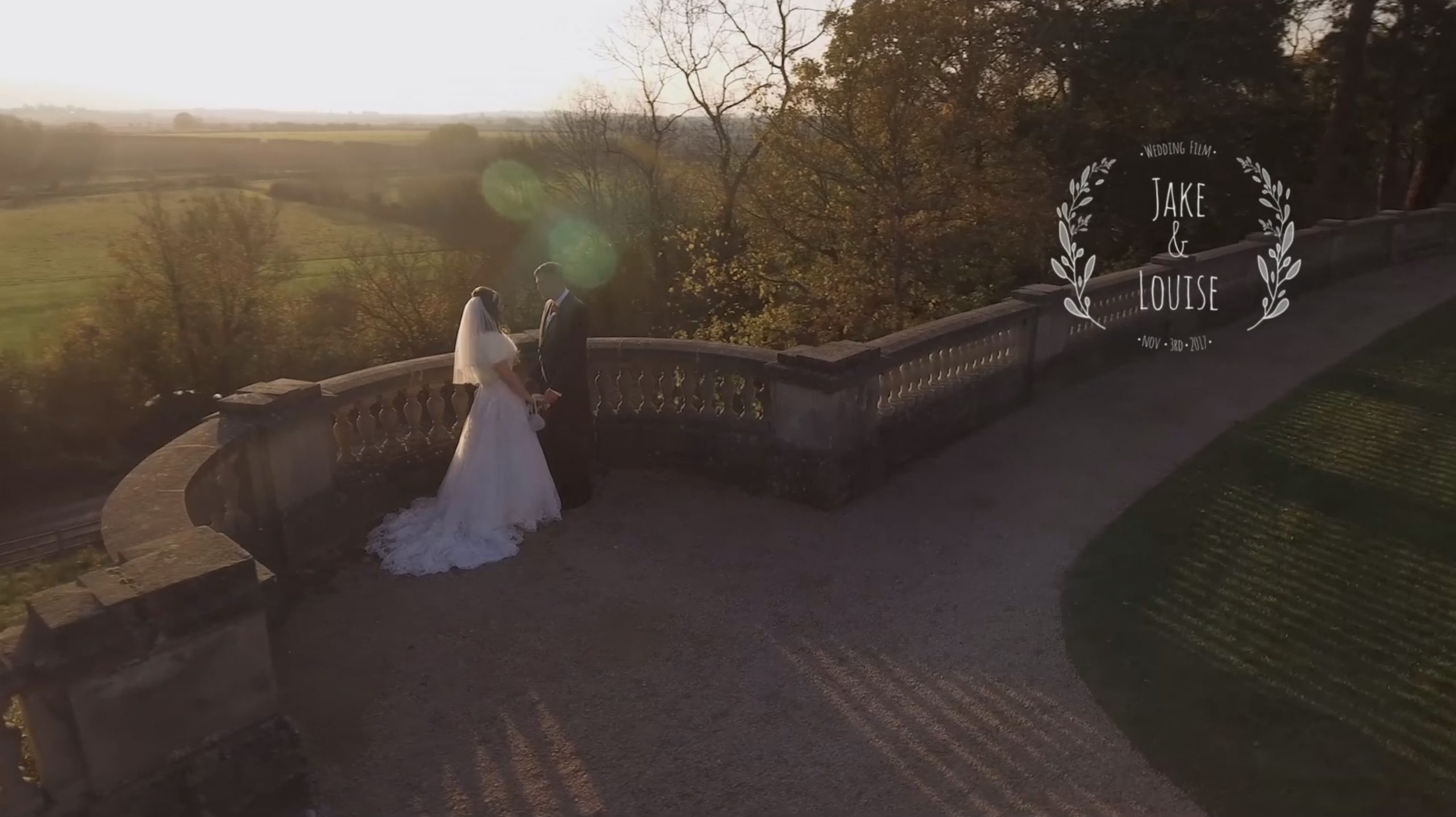 Fun, relaxed wedding videography at the Wood Norton